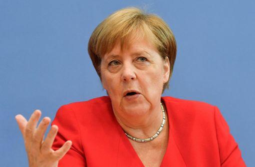 Merkel will wieder Klimakanzlerin sein