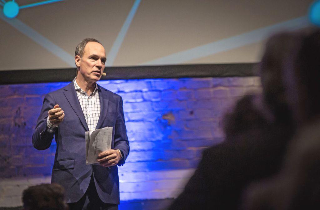 Christoph Keese wünscht sich Mut für einen radikalen Wandel. Foto: Lichtgut/Julian Rettig