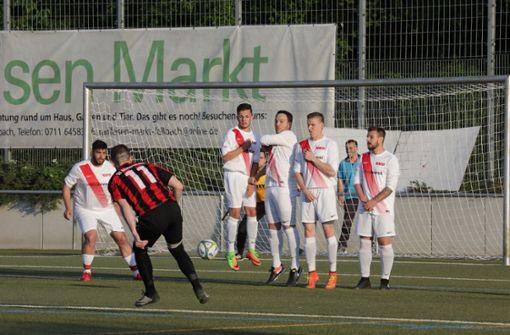SV Fellbach II dem Tabellenzweiten lange ebenbürtig