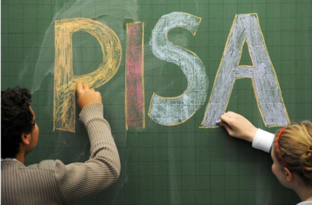 Der Pisa-Test zeigt: deutsche Schüler sind in puncto Kreativität nur Mittelmaß. Foto: dpa