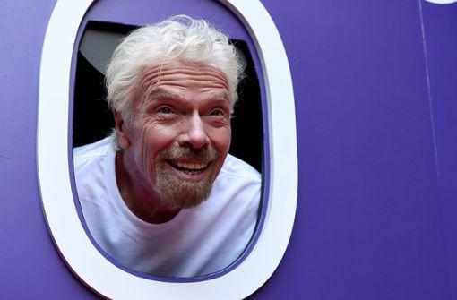 Branson will noch vor Bezos ins Weltall