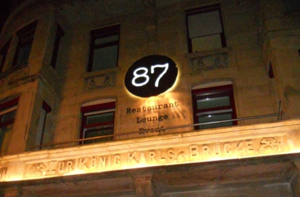 Die Zahl 87 ist Name und Hausnummer zugleich. Foto: Annina Baur