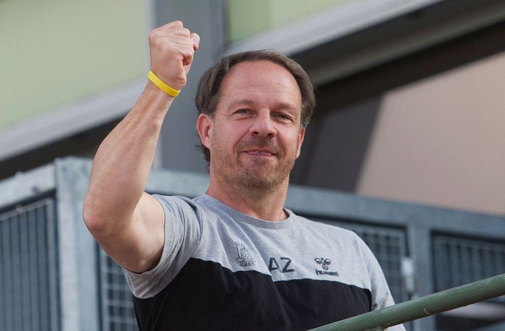 Alexander Zorniger fühlt sich in Dänemark wohl. Foto: dpa