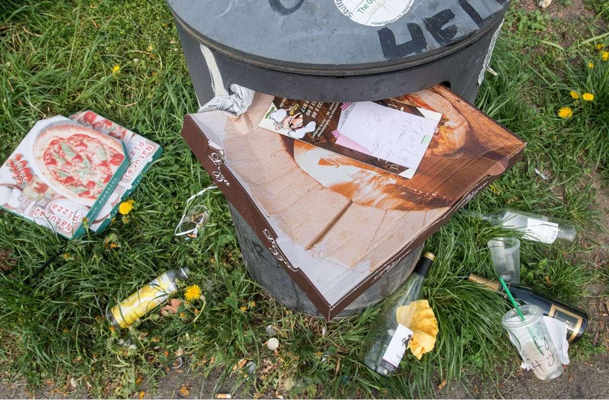 Dauerproblem: Müll. Foto: picture alliance/dpa