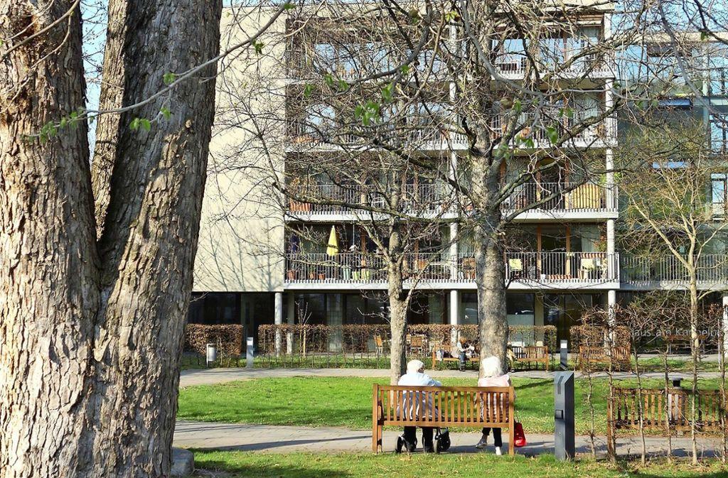 Inzwischen dürfen Bewohner das Haus am  Kappelberg nicht mehr verlassen. Foto: Ingrid Sachsenmaier