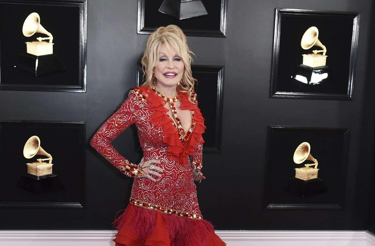 Dolly Parton bei den Grammy-Awards 2019 in Los Angeles Foto: dpa/Jordan Strauss