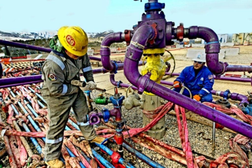Fracking-Felder wie hier in Colorado (USA) sind aktuell kaum profitabel zu betreiben. Foto: AP
