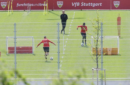 So läuft das Training des VfB Stuttgart