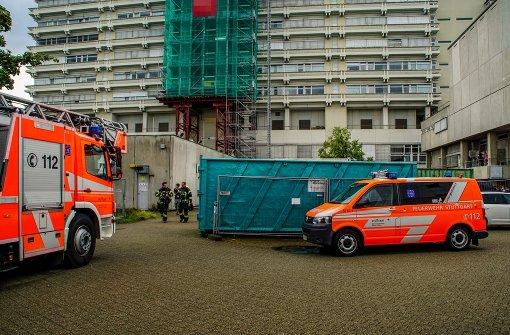 Drei Verletzte nach Verpuffung und Brand