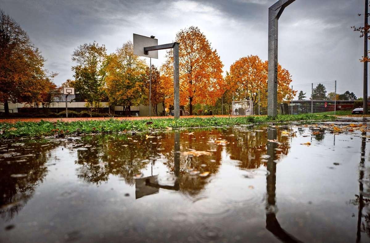 Am Bildungszentrum Benzach soll ein  Hallenbad mit 25-Meter-Sportbecken gebaut werden. Foto: Gottfried Stoppel