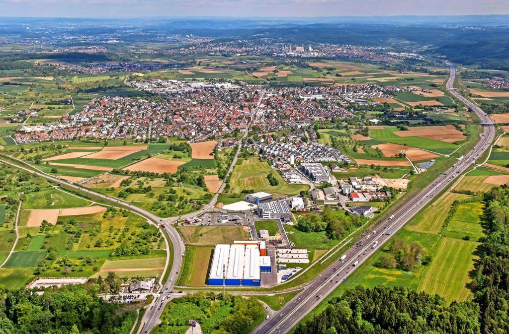 Seit Jahren legt die Stadt Rutesheim eine außergewöhnlich dynamische Entwicklung hin. Foto: Archiv/Leicht