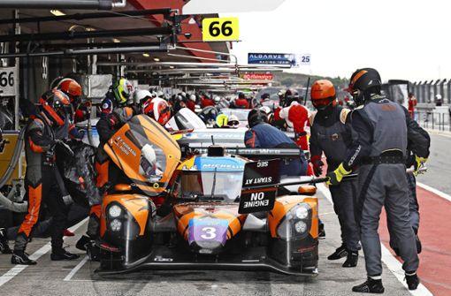 Fernziel   sind die           24 Stunden von  Le Mans