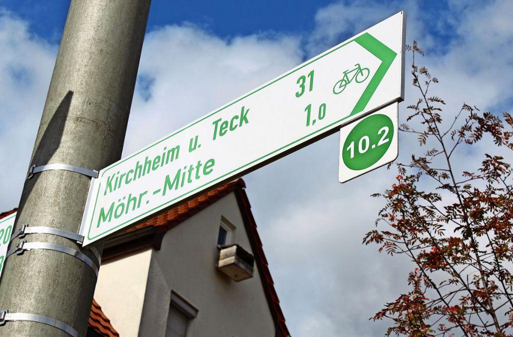 Derartige Schilder gibt es in Stuttgart-Plieningen keine. Foto: Jacqueline Fritsch