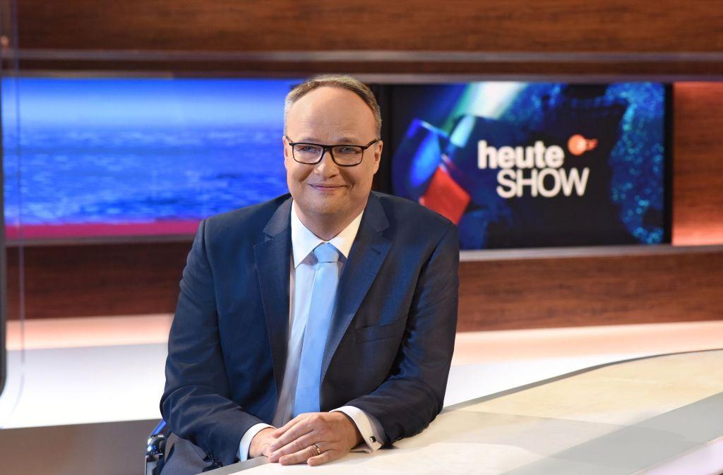 """Oliver Welke moderiert seit Jahren die """"Heute Show"""" im ZDF. Foto: ZDF"""