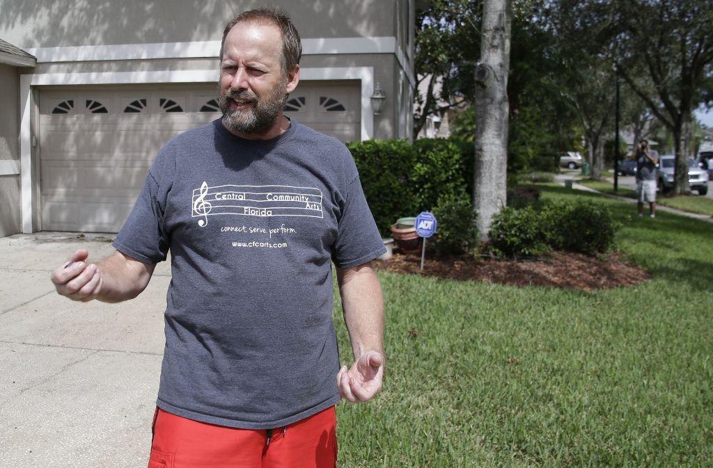 Eric Paddock, der Bruder des Todesschützen von Las Vegas, kann die Tat nicht begreifen. Foto: AP