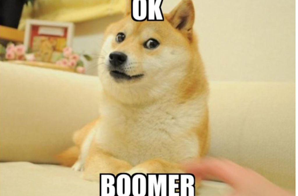 """Ok Boomer"" Foto: Meme"