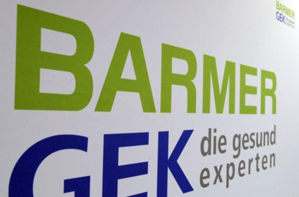 Die Barmer/GEK ist mit 8,5 Millionen Versicherten die zweitgrößte Ersatzkasse. Foto: dpa