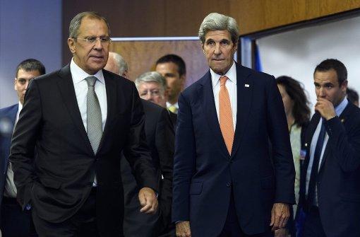 USA beenden Dialog mit Russland über Waffenruhe