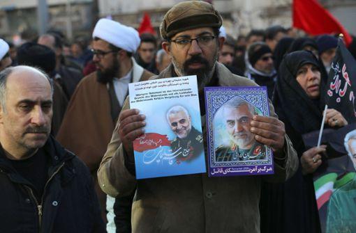 Der Nahe Osten in Aufruhr