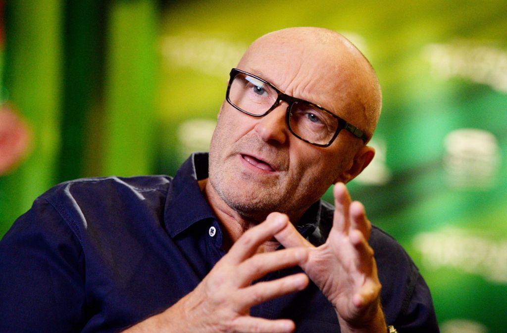 Der Ex-Genesis-Trommler Phil Collins Foto: dpa