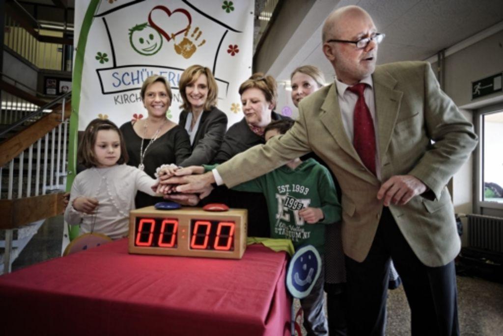 Eine Stoppuhr als Geschenk Foto: Heinz Heiss