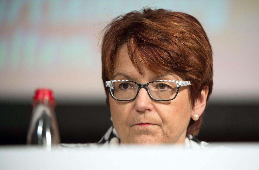 Die Chefin der Frauen-Union im Südwesten Inge Grässle hatte für mehr Frauen an der Spitze der Landesliste geworben. Foto: dpa