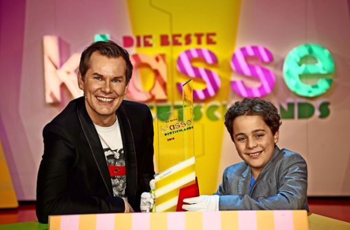 Als Junior-James-Bond in der Quiz-Show