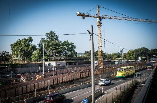 Sperrungen am Rosensteintunnel verlegt
