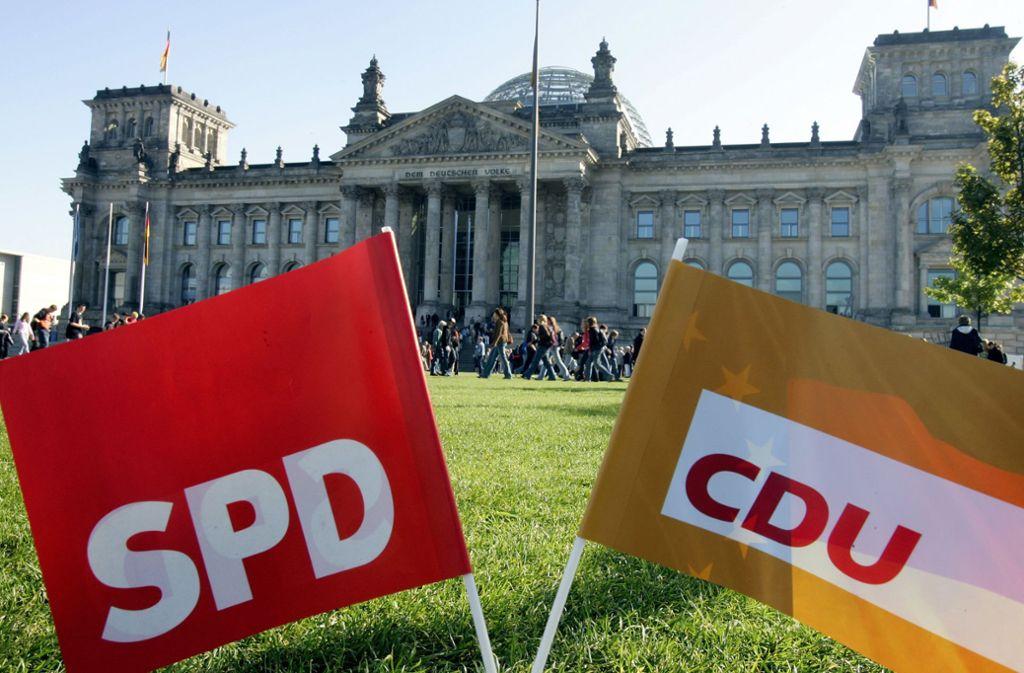 Klausur, Koalitionsausschuss, Parteisitzungen und EU-Gipfel: Union und Sozialdemokraten haben einen vollen Terminkalender. Foto: dpa