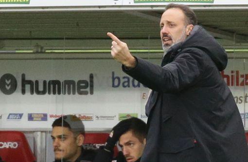 Pressekonferenz mit Trainer Matarazzo