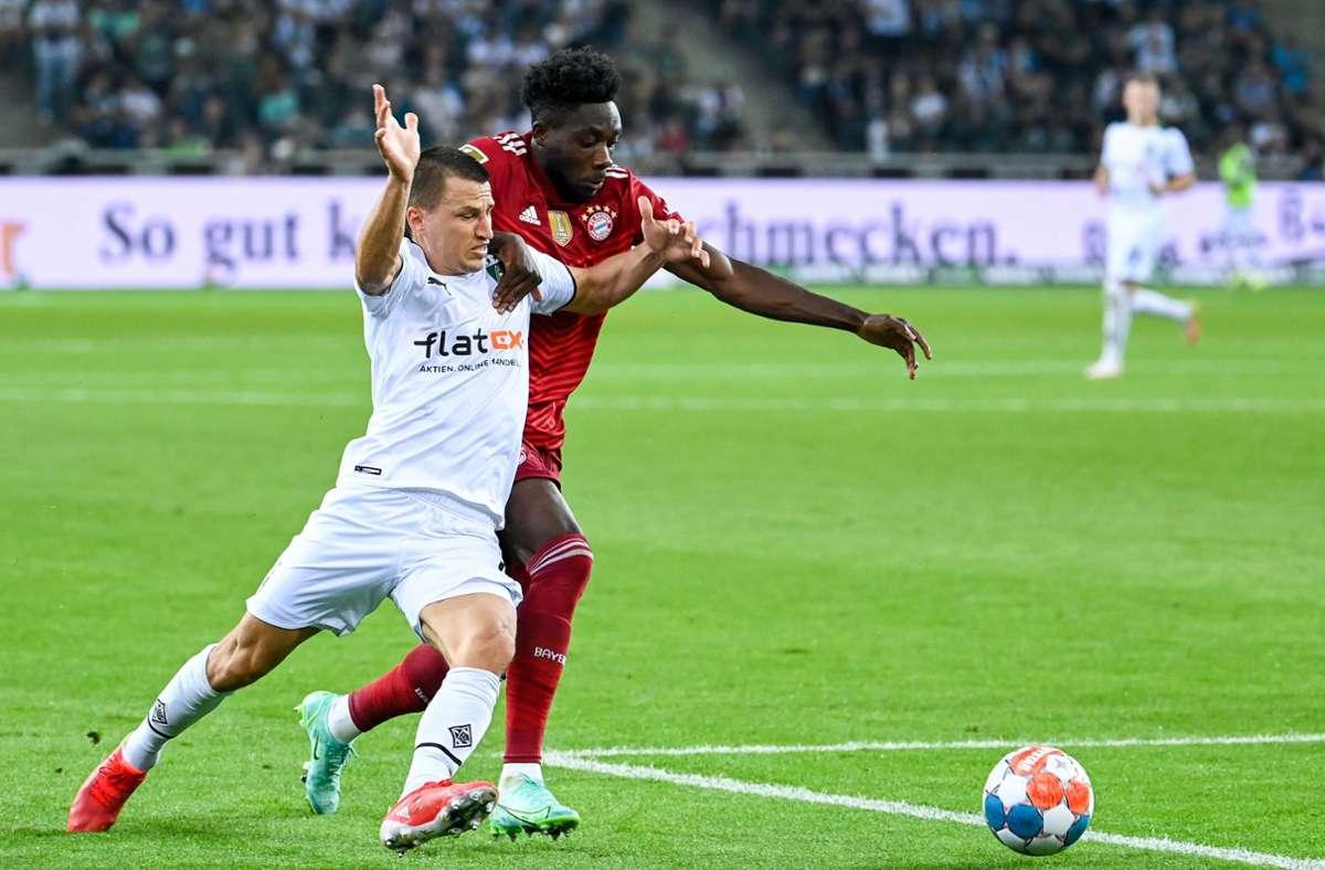 Borussia Mönchengladbach konnte den Bayern Paroli bieten. Foto: dpa/Federico Gambarini
