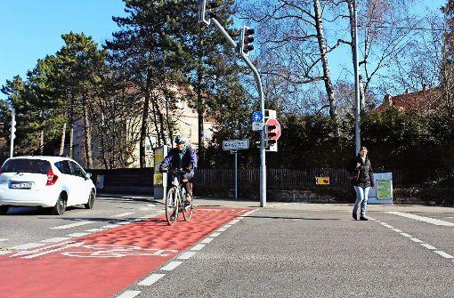 Kritik am Radweg an der Jahnstraße