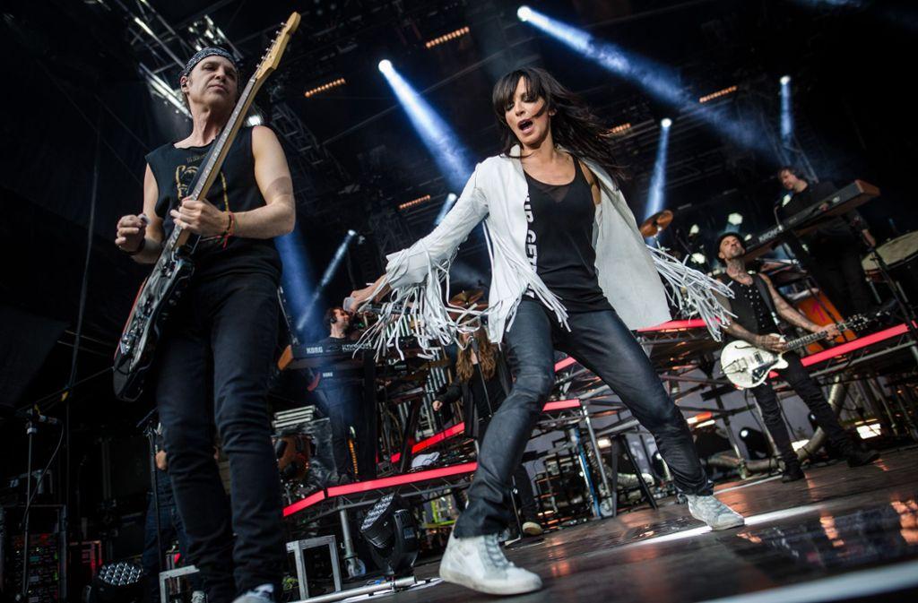 Die Zuschauer waren von Nenas Auftritt in Stuttgart begeistert. Foto: Lichtgut/Christoph Schmidt