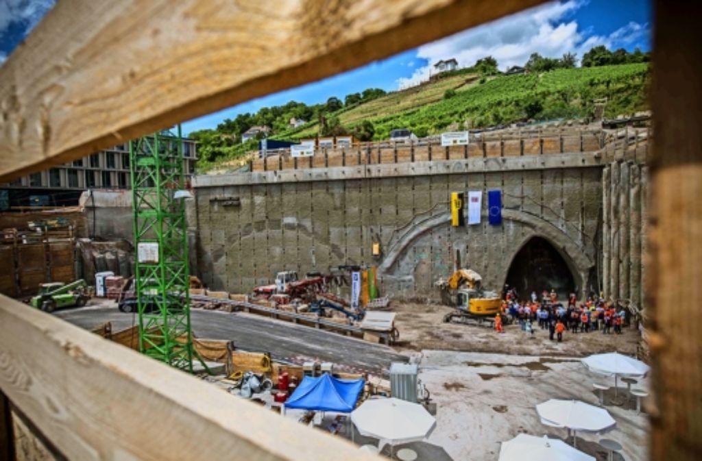 Baubeginn in der Baugrube an der Jägerstraße Foto: Lichtgut/Max Kovalenko