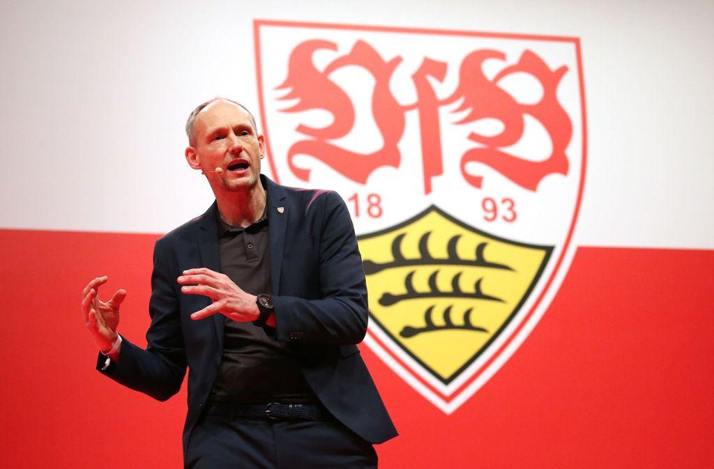 Christian Riethmüller unterlag Claus Vogt bei der Wahl zum neuen Präsidenten des VfB Stuttgart. Foto: Baumann