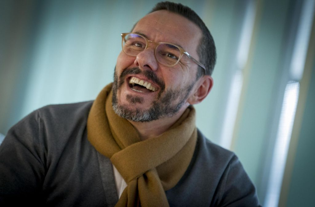 Lachen ist für ihn eine Form von Therapie: Oliver Gimber Foto: Lichtgut/Leif Piechowski