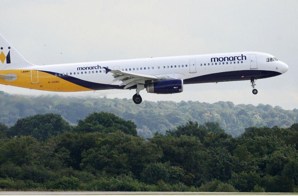 Die britische Airline Monarch hat ihren Flugbetrieb eingestellt. Foto: dpa