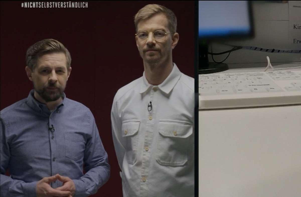 Aus 15 Minuten #JKLive wird ein sieben Stunden langes Statement von Joko und Klaas, für das ProSieben den ganzen Mittwochabend freiräumt. Foto: dpa/ProSieben