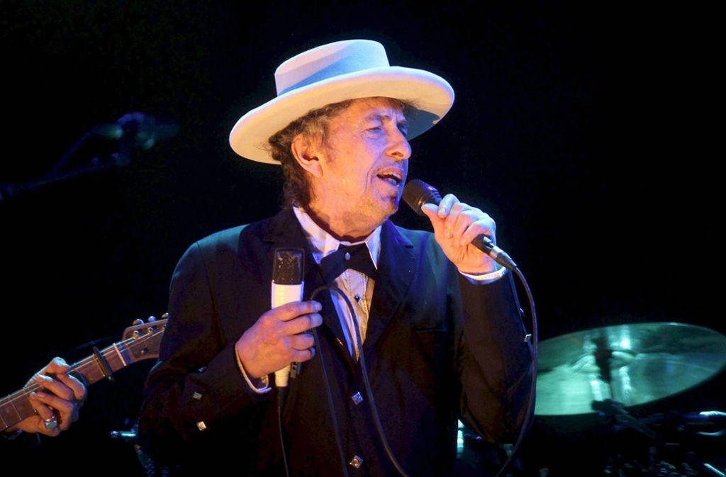 Aktuelle Fotos des Konzerts von Bob Dylan gibt es wegen des Fotografieverbots keine. Gerockt hat er Stuttgart trotzdem. Foto: dpa