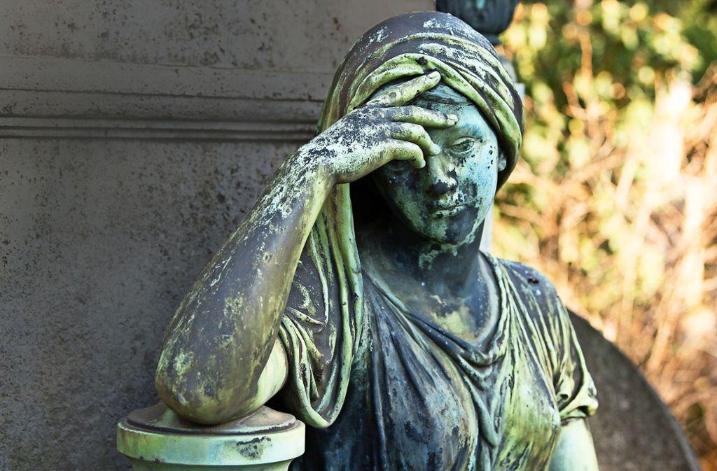 Der Tod ist nach wie vor ein Tabuthema. Das macht es schwer für diejenigen, die mit ihm konfrontiert werden. Foto: dpa