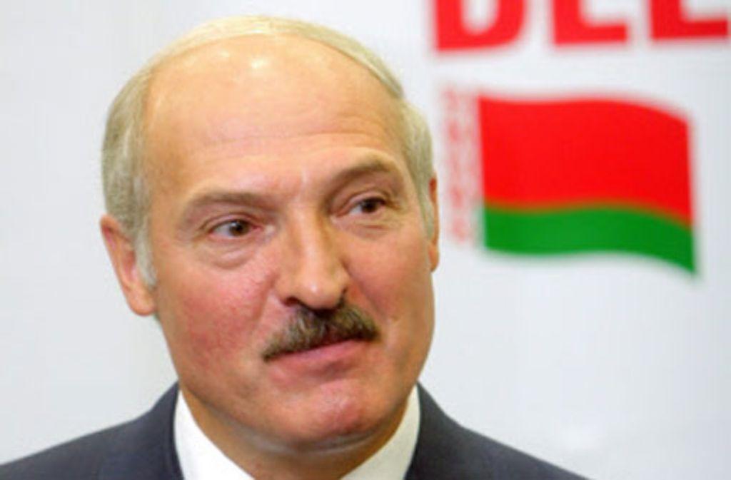 Alexander Lukaschenko. Foto: dpa