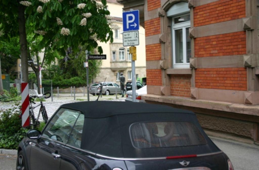 parkraummanagement in stuttgart aus amtssicht ist die strafe ein geschenk stuttgart mitte. Black Bedroom Furniture Sets. Home Design Ideas