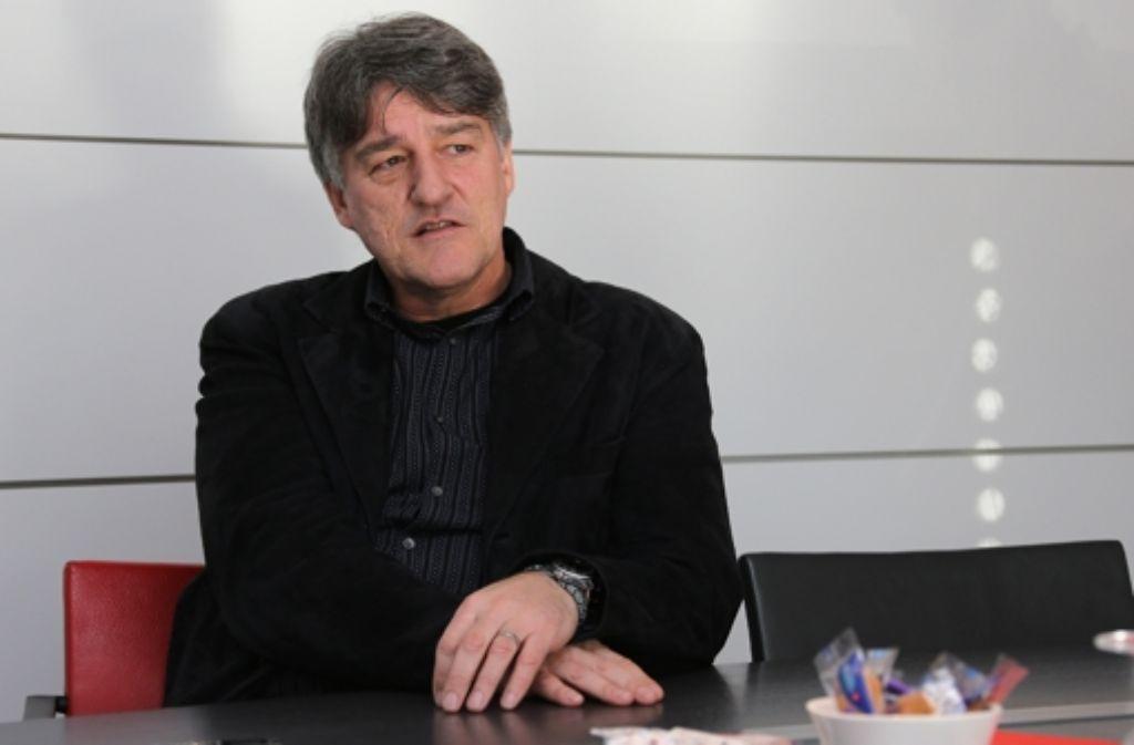 Bernd Wahler macht sich Sorgen um den VfB Stuttgart. Seit dem 22. Juli ist Wahler Präsident des VfB. Wer im Aufsichtsrat und im Vorstand des Vereins sitzt, zeigen wir in der Fotostrecke. Foto: Pressefoto Baumann