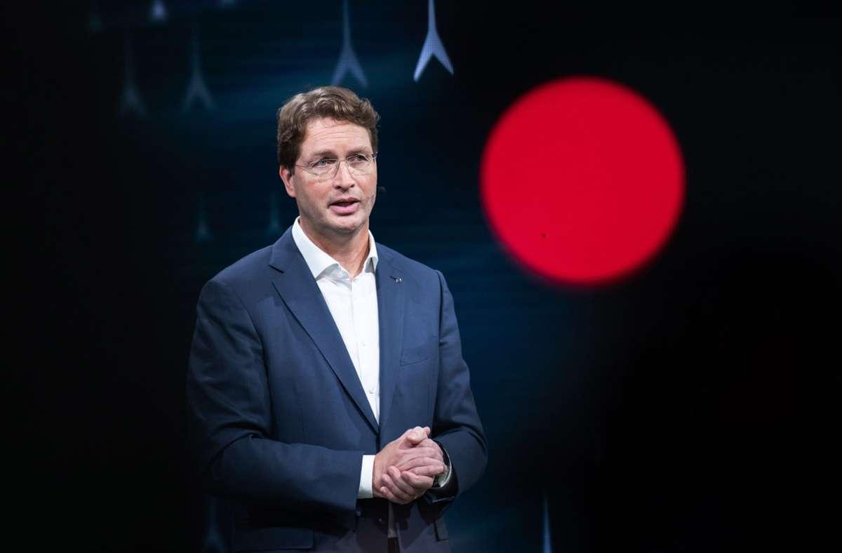 """Daimler-Chef Ola Källenius: """"Man muss auch ehrlich mit den Menschen sein."""" Foto: dpa/Silas Stein"""