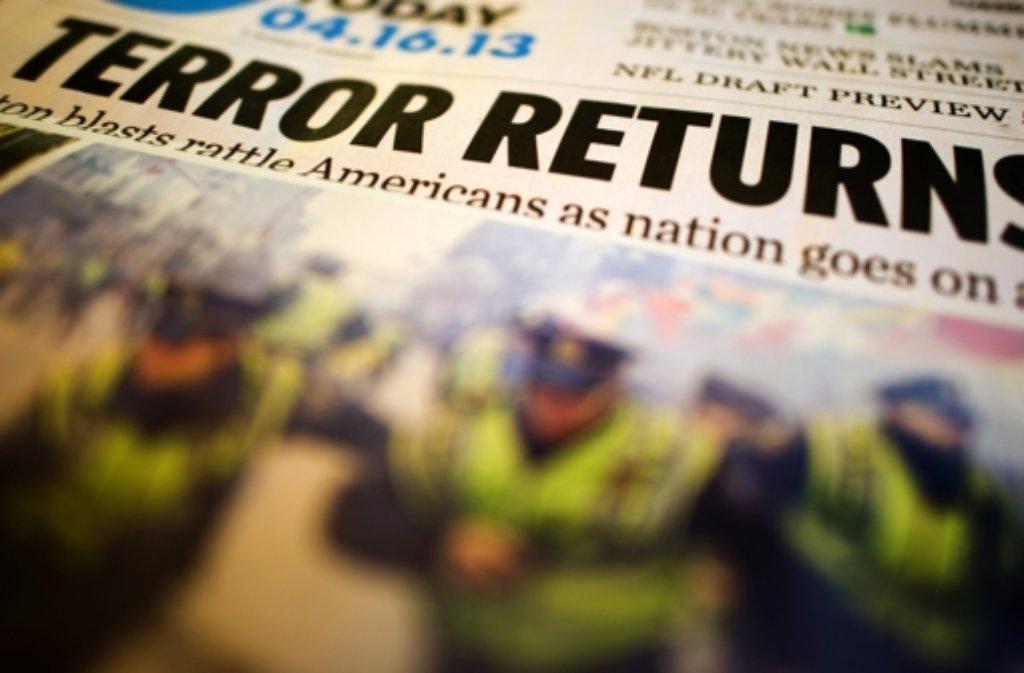 Der Terror in den USA beherrscht die Schlagzeilen. Foto: dpa