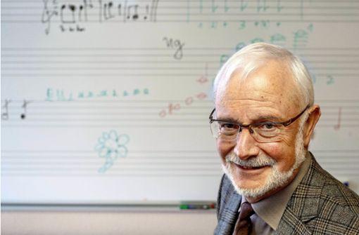 Der Mister Musikschule geht in den Ruhestand