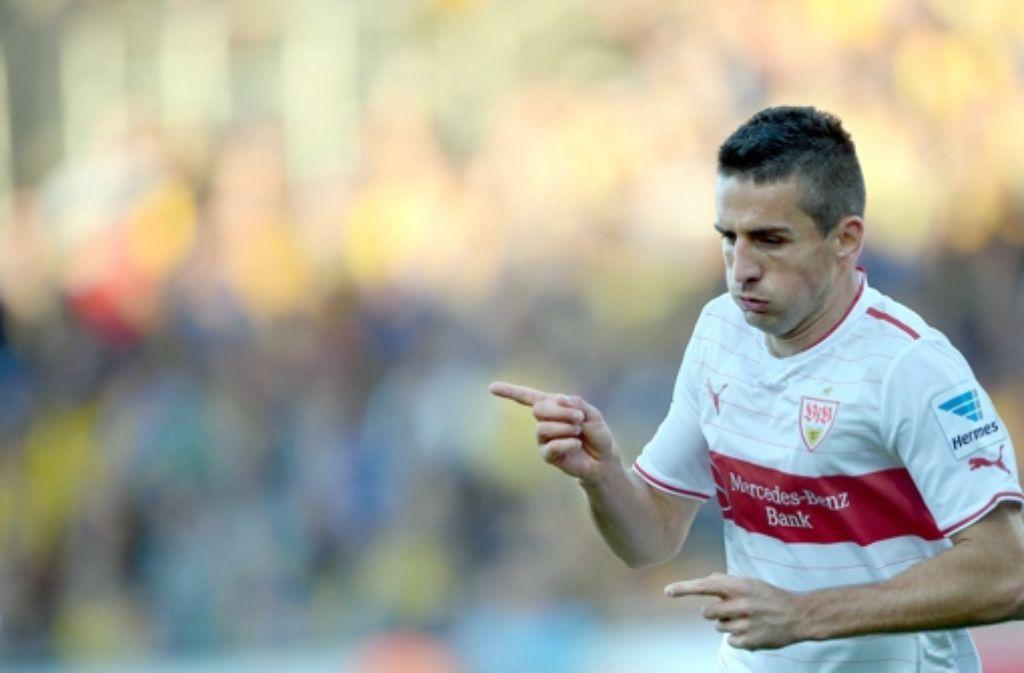 VfB-Profi Vedad Ibisevic hat am Samstag für das Nationalteam von Bosnien gegen Andorra gespielt. Foto: dpa