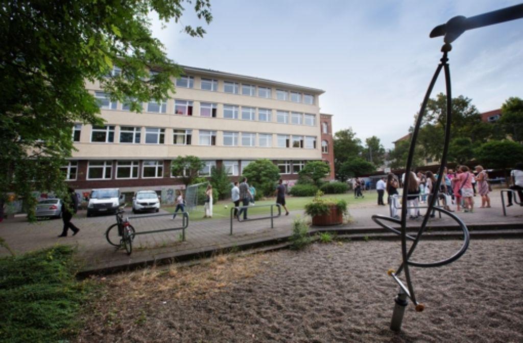 Auch in der ehemaligen Friedensschule sollen Flüchtlinge einziehen. Foto: LG/Ines Rudel