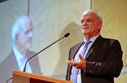 Peter Hahne spricht im Hospitalhof