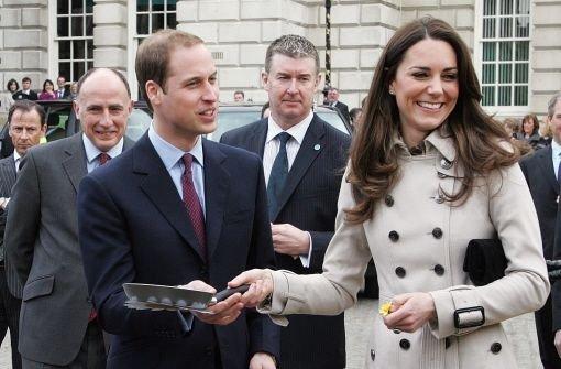 Kate und William auf Besuch in Belfast